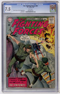 Silver Age (1956-1969):War, Our Fighting Forces #85 (DC, 1964) CGC VF- 7.5 White pages....