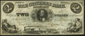 Obsoletes By State:Indiana, Gosport, IN- Citizens Bank of Gosport $2 July 1, 1857. ...