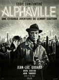 "Movie Posters:Science Fiction, Alphaville (Athos Films, 1965). French Grande (45"" X 61"") JeanMascii Artwork.. ..."