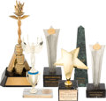 Movie/TV Memorabilia:Awards, An Ernest Borgnine Collection of Trophies, 1960s-2000s.... (Total:6 )