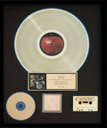 Music Memorabilia:Memorabilia, Beatles Let It Be RIAA Hologram Gold Record Sales Award(Apple Records AR 34001, 1970). ...