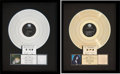Music Memorabilia:Awards, Cher RIAA Hologram Record Sales Awards for Cher (GeffenRecords GHS 24164, 1987) and Heart of Stone (G... (Total: 2Items)