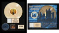 Music Memorabilia:Awards, Trans-Siberian Orchestra RIAA Hologram Gold Record Sales Awards forThe Lost Christmas Eve (Lava/Atlantic Records ... (Total: 2)