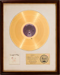 Music Memorabilia:Awards, Gladys Knight And The Pips Imagination RIAA White Mat GoldRecord Sales Award (Buddah Records BDS-5141, 1973)....