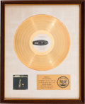 Music Memorabilia:Awards, Dionne Warwick In Valley Of The Dolls RIAA White MatGold Record Sales Award (Scepter Records SPS-568-A, 1...