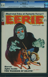 Eerie #10 (Warren, 1967) CGC NM 9.4 White pages
