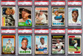 Baseball Cards:Lots, 1950's - 1980's Topps Baseball Collection (127) With Many Stars& HoFers. ...
