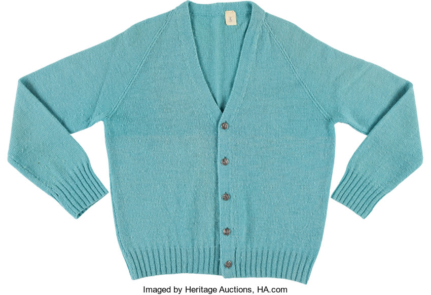 80c9e95ad7d A Fred Rogers Sweater from