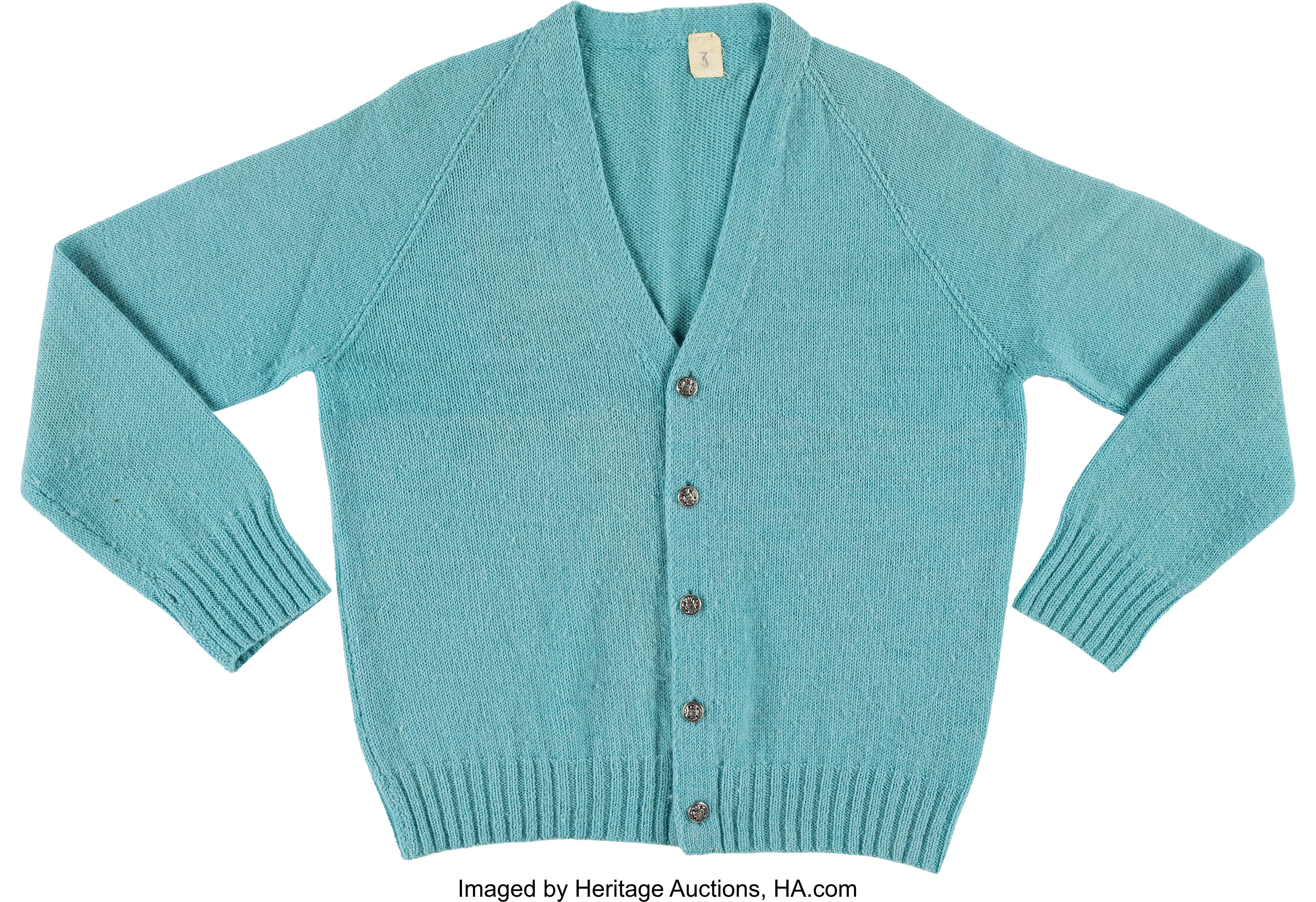 A Fred Rogers Sweater From Mister Rogers Neighborhood Circa Lot 89176 Heritage Auctions
