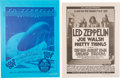 "Music Memorabilia:Posters, Led Zeppelin - Two ""Day On The Green"" Concert Posters Signed byArtist Randy Tuten (Bill Graham, 1975 & 1977).... (Total: 2Items)"