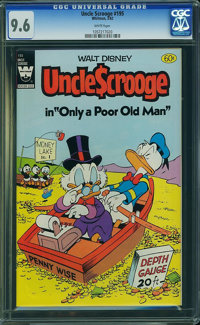 Uncle Scrooge #195 (Whitman, 1982) CGC NM+ 9.6 White pages