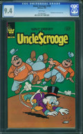 Modern Age (1980-Present):Cartoon Character, Uncle Scrooge #199 (Whitman, 1983) CGC NM 9.4 White pages.