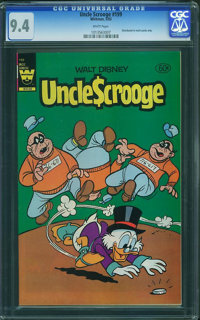 Uncle Scrooge #199 (Whitman, 1983) CGC NM 9.4 White pages