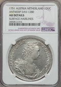 Austria:Austria-Netherlands, Austria: Austria-Netherlands. Maria Theresa Ducat 1751 AU Details(Surface Hairlines) NGC,...
