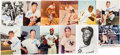 Baseball Collectibles:Photos, 1950-'80's Baseball Greats Signed Photographs Lot of 67. ...