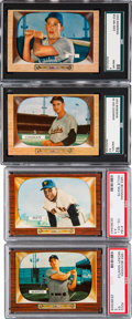Baseball Cards:Lots, 1952 - 1955 Bowman Baseball Collection (429). ...