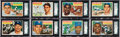 Baseball Cards:Sets, 1956 Topps Baseball Complete Set (340) Plus One Checklist from The Gary Carter Collection. ...
