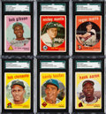 Baseball Cards:Sets, 1959 Topps Baseball Complete Set (572) from The Gary Carter Collection. ...