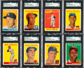 Baseball Cards:Sets, 1958 Topps Baseball Complete Set (494) from The Gary Carter Collection. ...
