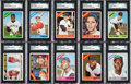 Baseball Cards:Sets, 1966 Topps Baseball Complete Set (598) from The Gary Carter Collection....