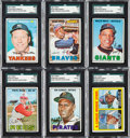 Baseball Cards:Sets, 1967 Topps Baseball Near Set (608/609) from The Gary Carter Collection. ...