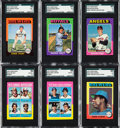 Baseball Cards:Sets, 1975 Topps Mini Baseball Complete Set (660) from The Gary Carter Collection. ...