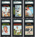 Baseball Cards:Sets, 1971 Topps Baseball Complete Set (752) from The Gary Carter Collection. ...