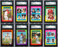 Baseball Cards:Sets, 1975 Topps Baseball High Grade Complete Set (660) from The Gary Carter Collection....