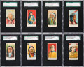 "Non-Sport Cards:Sets, 1910 E50 American Caramel ""Wild West Caramels"" SGC Graded Near Set(20/24). ..."