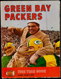 Football Collectibles:Publications, 1962 Green Bay Packers Rare Red Variation Yearbook....