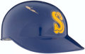 Baseball Collectibles:Hats, Early 1990's Pete O'Brien Game Worn Seattle Mariners BattingHelmet....