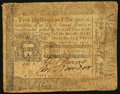 Colonial Notes:Pennsylvania, Pennsylvania October 25, 1775 2s 6d Fine-Very Fine.. ...