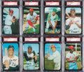 Baseball Cards:Sets, 1970 Topps Super Baseball PSA Graded Near Set (41). ...