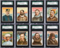 "Non-Sport Cards:Sets, 1910 T118 Hassan ""World's Greatest Explorers"" SGC Graded CompleteSet (25). ..."