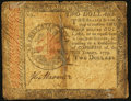 Colonial Notes:Continental Congress Issues, Continental Currency January 14, 1779 $2 Very Good-Fine.. ...