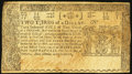 Colonial Notes:Maryland, Maryland April 10, 1774 $2/3 Very Fine.. ...
