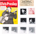 Music Memorabilia:Tickets, Elvis Presley - Unused Concert Ticket, Photos, and Various Ephemera(1956)....