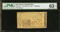 Colonial Notes:New Jersey, New Jersey December 31, 1763 6s PMG Choice Uncirculated 63 EPQ.. ...