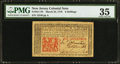 Colonial Notes:New Jersey, New Jersey March 25, 1776 6s PMG Choice Very Fine 35.. ...