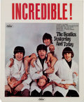"Music Memorabilia:Memorabilia, Beatles Yesterday and Today ""Butcher Cover"" Promo Poster(Capitol, 1966). . ..."