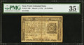 Colonial Notes:New York, New York March 5, 1776 $1/3 PMG Choice Very Fine 35 Net.. ...