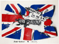 "Music Memorabilia:Posters, Sex Pistols ""Anarchy In The UK"" Promo Poster (EMI, 1976)...."