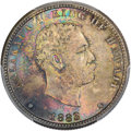 Coins of Hawaii , 1883 25C Hawaii Quarter MS66+ PCGS Secure. CAC....