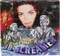 "Music Memorabilia:Autographs and Signed Items, Michael Jackson ""3D Screamer"" Speakers with Signed Box...."