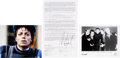Music Memorabilia:Documents, Michael Jackson and 'N SYNC Signed Contract for the Michael Jackson: 30th Anniversary Celebration Concerts (New York, 2001)....
