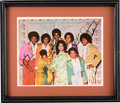 Music Memorabilia:Autographs and Signed Items, Jackson Family Signed Color Photo....