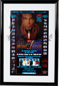 "Music Memorabilia:Autographs and Signed Items, Michael Jackson, Whitney Houston, & Others Signed ""MichaelJackson 30th Anniversary Celebration"" Poster (2001)...."