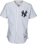 Baseball Collectibles:Uniforms, 2005 Derek Jeter Game Worn New York Yankees Jersey with Pants &Cap....
