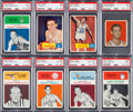 Basketball Cards:Lots, 1948 to 1961 Bowman, Fleer and Topps Basketball Collection (20)....