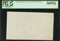 Fractional Currency:Shield, CSA Watermarked Paper - Single Block. PCGS Choice About New 58PPQ.. ...